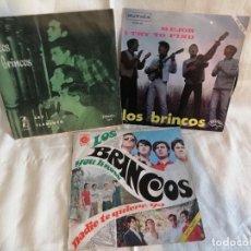 Discos de vinilo: LOS BRINCOS LOTE 3 SINGLES EN MUY BUEN ESTADO VER MAS FOTOS E INFORMACION ANEXA. Lote 222221325