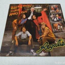 Discos de vinilo: REGALIZ - BUENAS NOCHES SEÑOR MONSTRUO (ORIGINAL SOUNDTRACK). Lote 222221433
