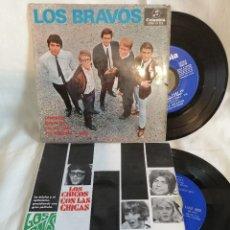 Discos de vinilo: LOS BRAVOS LOTE 2 EPS. AÑOS 60 EXCELENTE ESTADO VER FOTOS Y MAS INFORMACION ANEXA. Lote 222221681
