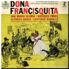 Discos de vinilo: DOÑA FRANCISQUITA - EP 1959. Lote 222221927