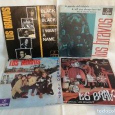 Discos de vinilo: LOS BRANCOS LOTE 4 SINGLES AÑOS 60 EXCELENTE ESTADO VER FOTOS Y MAS INFORMACION. Lote 222222383