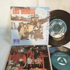 Discos de vinilo: LOS BRAVOS LOTE 2 SINGLES EXCELENTE ESTADO VER FOTOS Y MAS INFORMACION. Lote 222222736