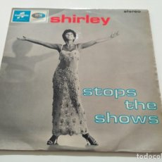 Discos de vinilo: SHIRLEY BASSEY - SHIRLEY STOPS THE SHOWS (LP, ALBUM). Lote 222222950