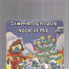 Discos de vinilo: CAMPANITAS PITUFAS. Lote 222223323