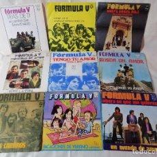 Discos de vinilo: FORMULA V. LOTE 9 SINGLES EN EXCELENTE ESTADO VER FOTOS Y MAS INFORMACION ANEXA. Lote 222225120