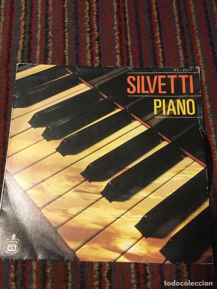 BEBU SILVETTI - PIANO SINGLE (Música - Discos de Vinilo - Maxi Singles - Canción Francesa e Italiana)
