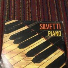 Discos de vinilo: BEBU SILVETTI - PIANO SINGLE. Lote 222225485