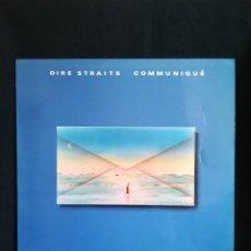 Discos de vinilo: VINILO DIRE STRAITS - COMMUNIQUÉ, 1979 SPAIN, CON INSERT. Lote 222225846
