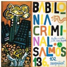 Discos de vinilo: KIKO ARGUELLO - BABILONIA CRIMINAL - EP 1967 - COMO NUEVO - PORTADA DOBLE. Lote 222229171