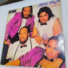 Discos de vinilo: MTUME - JUICY FRUIT. Lote 222230977