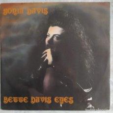 """Discos de vinilo: SONIA DAVIS - BETTE DAVIS EYES (12"""") (PARADISE PROJECT RECORDS) PPR 018 (1992;ES). Lote 222237621"""