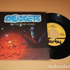 Discos de vinilo: ROCKETS - ON THE ROAD AGAIN - SINGLE - 1978 - IMPORT. Lote 222238223