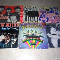 Discos de vinilo: LOTE DE 3 EPS Y 3 SINGLES DE LOS BEATLES-ORIGINALES ESPAÑOLES. Lote 222239185