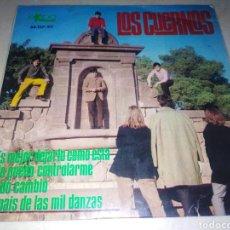 Discos de vinilo: LOS CUERNOS-ES MEJOR DEJARLO COMO ESTÁ-ORIGINAL ESPAÑOL 1967. Lote 222239671