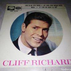 Discos de vinilo: CLIFF RICHARD-EP-LOOK IN MY EYES, MARIA-ORIGINAL ESPAÑOL 1965. Lote 222240383
