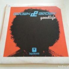 """Discos de vinilo: BROWN & BROWN - GOODLIFE (2X12""""). Lote 222242507"""