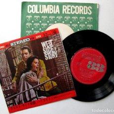 Discos de vinilo: LEONARD BERNSTEIN - WEST SIDE STORY - EP COLUMBIA 1962 JAPAN (EDICIÓN JAPONESA) BPY. Lote 222244538