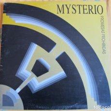 Discos de vinilo: MAXI - MYSTERIO - PROMESAS PROHIBIDAS/EN LA OSCURIDAD/LA CIUDAD DE LOS SUEÑOS. Lote 222246178