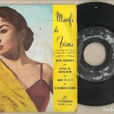 Discos de vinilo: DISCO VINILO. SINGLE. MARIFÉ DE TRIANA. MARÍA MAGDALENA. COLUMBIA ECGE 71484. (P/C61). Lote 222247630