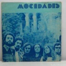 Discos de vinilo: MOCEDADES, M/T (SIN REFERENCIAS, ADQUIRIDO EN CUBA) EP GRABADO EN DIRECTO. Lote 222248356