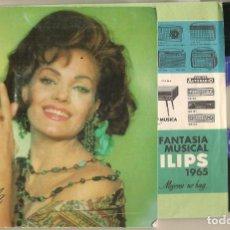 Discos de vinilo: DISCO VINILO. SINGLE. CARMEN SEVILLA. REPIQUETEO. PHILIPS 1965. (P/C61). Lote 222248703