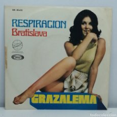 Discos de vinilo: GRAZALEMA, RESPIRACION (ECLIPTICA 1970) SINGLE. Lote 222248853
