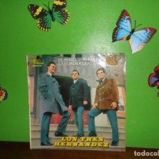 Discos de vinilo: LOS TRES HERNANDEZ - EL POBRE TOM - EP. Lote 222250477