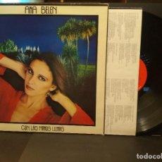 Discos de vinilo: ANA BELEN CON LAS MANOS LLENAS LP SPAIN 1980 PDELUXE. Lote 222250665
