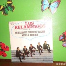 Discos de vinilo: LOS RELAMPAGOS - NIT DE LLAMPECS - EP. Lote 222251047