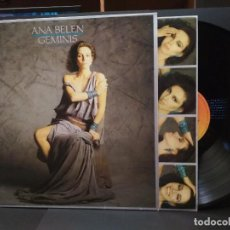 Discos de vinilo: ANA BELEN GEMINIS LP SPAIN 1984 PDELUXE. Lote 222251701