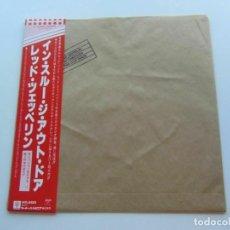 Discos de vinilo: VINILO EDICIÓN JAPONESA DEL LP DE LED ZEPPELIN IN THROUGH THE OUT DOOR ¡ LEER DESCRIPCIÓN ¡. Lote 222253123