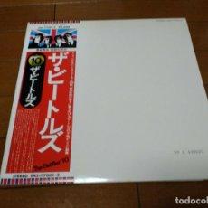 Discos de vinilo: VINILO EDICIÓN JAPONESA DEL LP DE THE BEATLES WHITE ALBUM. Lote 222253900