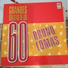 Discos de vinilo: BRUNO LOMAS. Lote 222257530