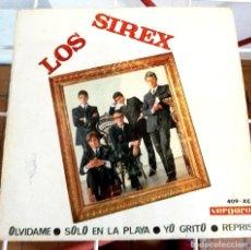 Discos de vinilo: LOS SIREX. OLVÍDAME. SOLO EN LA PLAYA. YO GRITO. REPRISE. Lote 222257900