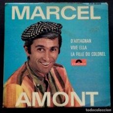 Discos de vinilo: MARCEL AMONT - D ARTAGNAN EP FRANCES 1967 - POLYDOR. Lote 222258363
