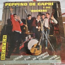 Discos de vinilo: 0920- PEPPINO DI CAPRI Y SUS ROCKERS - VIN 7 SINGLE. Lote 222258578