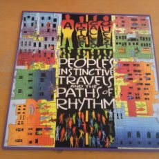 Disques de vinyle: A TRIBE CALLED QUEST PEOPLES INSTINCTIVE TRAVELS AND THE PATHS OF RHYTHM LP. Lote 222261287