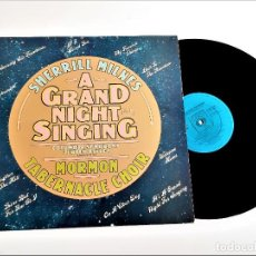 Discos de vinilo: VINILO SHERRILL MILNES A GRAND NIGHT FOR SINGING. Lote 222261357