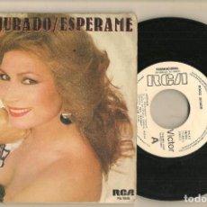 Discos de vinilo: DISCO VINILO. SINGLE. ROCIO JURADO. ESPERAME. RCA PB 7805. (P/C61). Lote 222261517