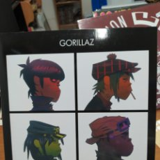 Discos de vinilo: GORILLAZ-DEMON DAYS . DOBLE LP VINILO PORTADA ABIERTA. NUEVO.. Lote 222262167
