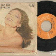 Discos de vinilo: DISCO VINILO. SINGLE. ROCIO JURADO. COMO YO TE AMO. RCA PB 7700. (P/C61). Lote 222262226
