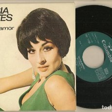 Discos de vinilo: DISCO VINILO. SINGLE. GRACIA MONTES. EL CARACOL. COLUMBIA MO 1150. (P/C61). Lote 222263051