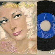 Discos de vinilo: DISCO VINILO. SINGLE. CONCHITA PIQUER. EMI ODEON. J 016- 20.636 M. (P/C61). Lote 222263746
