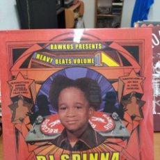 Discos de vinilo: DJ SPINNA–HEAVY BEATS VOLUME 1 . LP VINILO PRECINTADO. HIP HIP. Lote 222266088