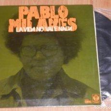Discos de vinilo: DISCO VINILLO LP DE PABLO MILANES. Lote 222270556
