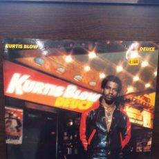 Discos de vinilo: KURTIS BLOW. DEUCE.. Lote 222271271