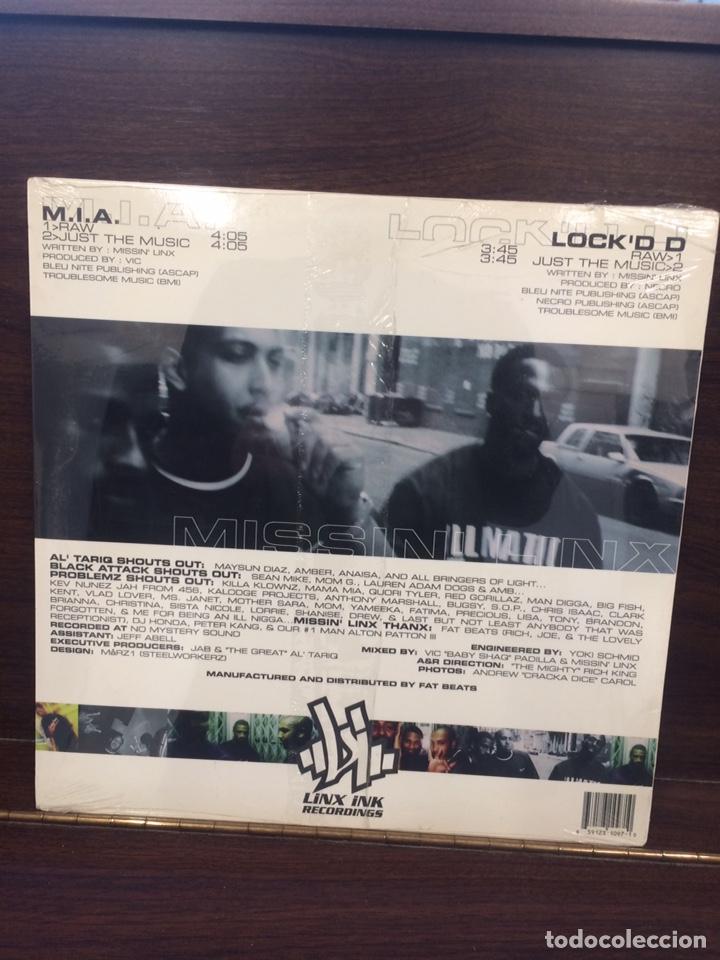 Discos de vinilo: M.I.A-LOCED. EP. nuevo. - Foto 2 - 222271900