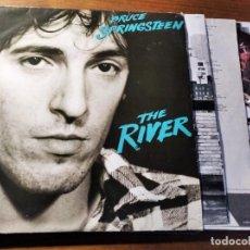 Discos de vinilo: BRUCE SPRINGSTEEN - THE RIVER ****** RARO LP ESPAÑOL DOBLE ORIGINAL 1980 BUEN ESTADO. Lote 222272705