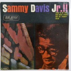 Discos de vinilo: SINGLE SAMMY DAVIS JR.!!. Lote 222276995