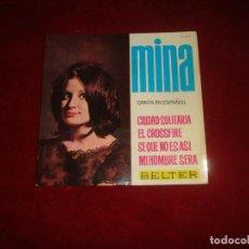 Discos de vinilo: MINA CIUDAD SOLITARIA Y 3 MAS EP BUEN SONIDO. Lote 222278126